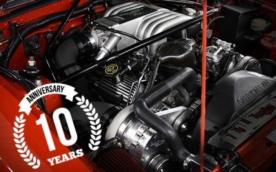 Celebrating 10th year of supercharger production.