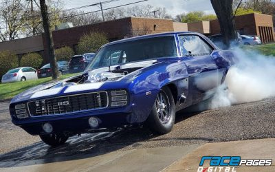 TorqStorm's supercharged '69 Camaro for Street King competition.